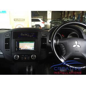 Pajero GPS Navigation System
