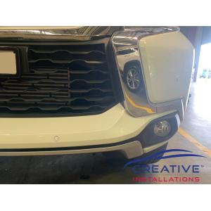 Pajero Front Parking Sensors