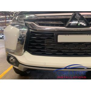 Pajero Sport Parking Sensors