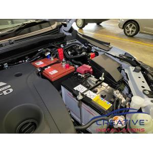 Pajero Sport Dual Battery System