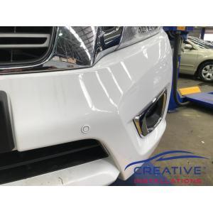 Navara Parking Sensors