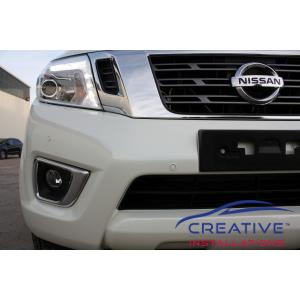 Navara 2016 Front Parking Sensors
