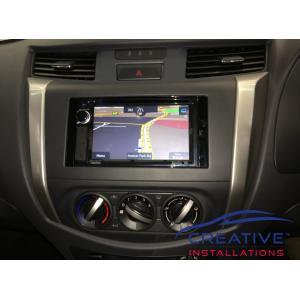Navara Clarion NX387AU GPS Navigation System