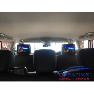 Patrol Headrest DVD Players