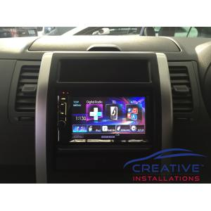 X-Trail Kenwood Infotainment System