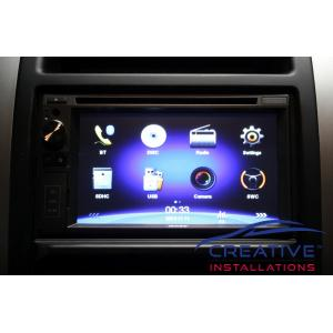 X-Trail In-Dash Multimedia Receiver