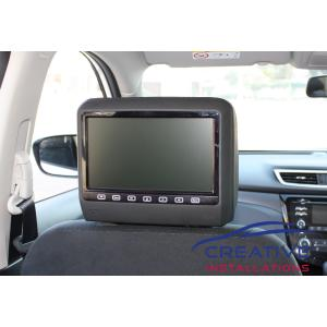 X-Trail Headrest DVD Players