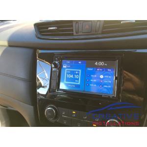 XTrail Clarion NX387AU Car Stereo
