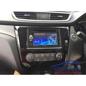 X-Trail Kenwood GPS Navigation System