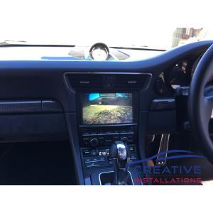 911 GT3 Integrated Rear Camera
