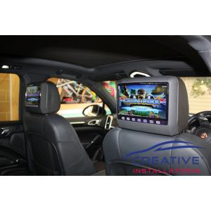 Cayenne Headrest DVD Players
