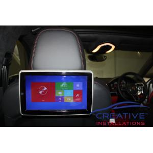Cayenne Headrest Car DVD Players