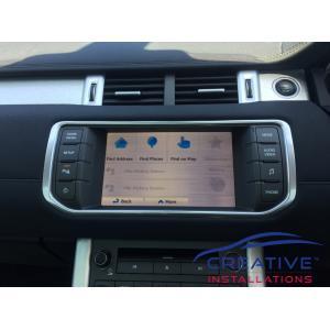 Range Rover GPS Navigation System