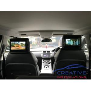 "Range Rover Evoque 9"" Headrest DVD Players"