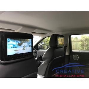 Land Rover DVD Players