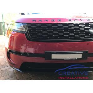 Velar Front Parking Sensors