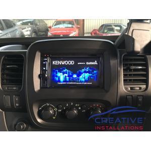Trafic Kenwood GPS Navigation System