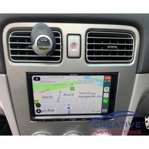 Forester Apple CarPlay Google Maps