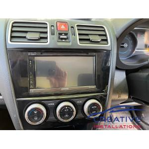 Forester Car Stereo Upgrade