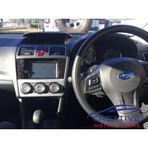 Impreza Kenwood GPS Navigation System