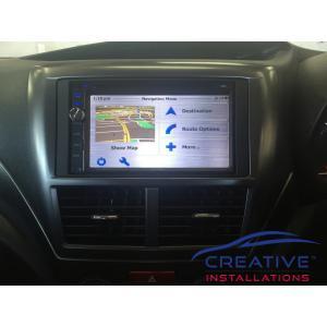 Impreza GPS Navigation System