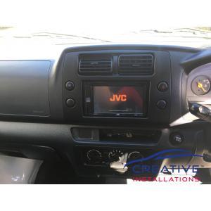 APV JVC Car Radio