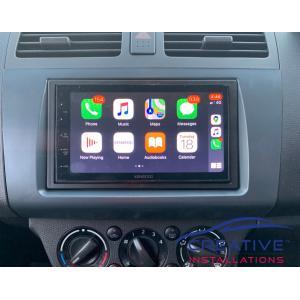 Suzuki Swift Apple CarPlay