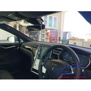 Model S BlackVue DR900S Dash Cams
