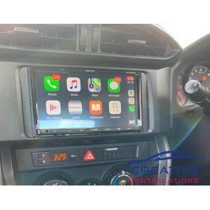 Toyota 86 Apple CarPlay DMX8020S