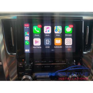 Alphard Apple CarPlay Upgrade