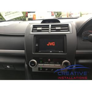 Camry JVC KW-V250BT Head Unit