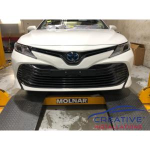 Camry Front Parking Sensors