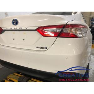 Camry Reverse Parking Sensors