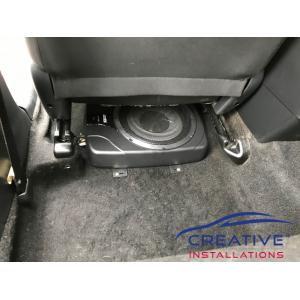 "Corolla 10"" Underseat Subwoofer"