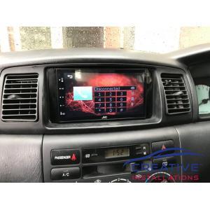 Corolla JVC Car Stereo