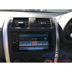 Corolla Infotainment System