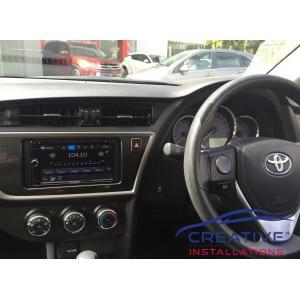 Corolla GPS Navigation System