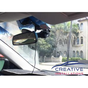 Corolla Uber Dash Cam