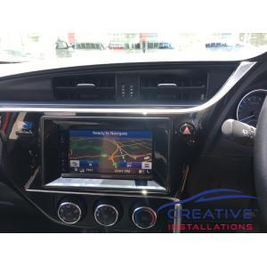 Corolla Navigation System