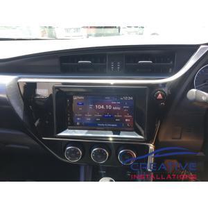 Corolla Kenwood GPS Navigation System