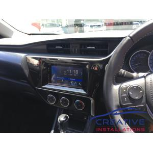 Corolla DNX5180S GPS Navigation System