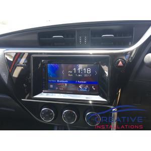 Corolla Infotainment GPS system