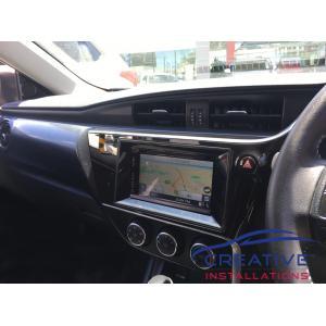Corolla Kenwood DNX5180S GPS Navigation System