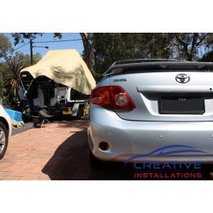 Corolla Reverse Parking Sensors