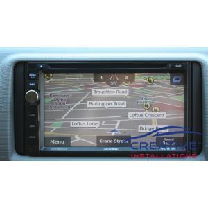 HiAce GPS Navigation System