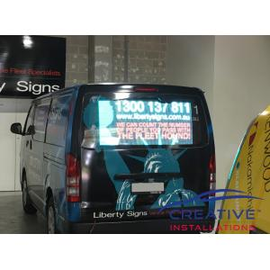 HiAce LED Digital Display Sign