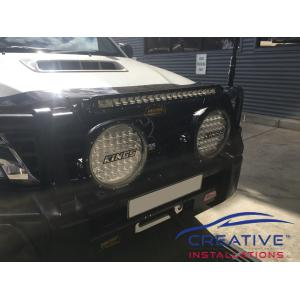 "HiLux Adventure Kings 20"" Slim Line LED Light Bar"