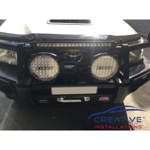 HiLux Adventure Kings LED Light Bar