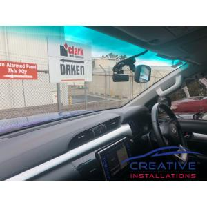 HiLux THINKWARE Dash Cameras