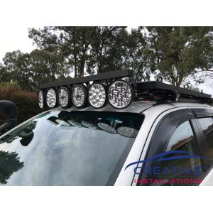 HiLux Adventure Kings 8.5'' Laser MKII Driving Lights